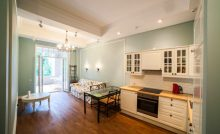 Кухня 2-комнатного апартамента в элитной новостройке