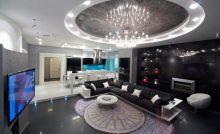 Футуристическая гостиная