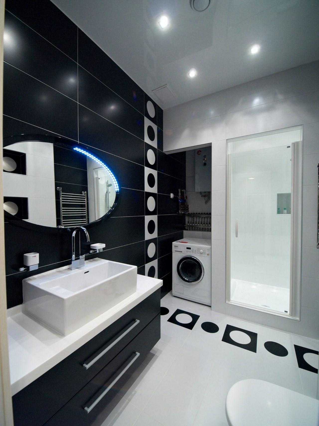 Прачечная комната совмещенная с ванной