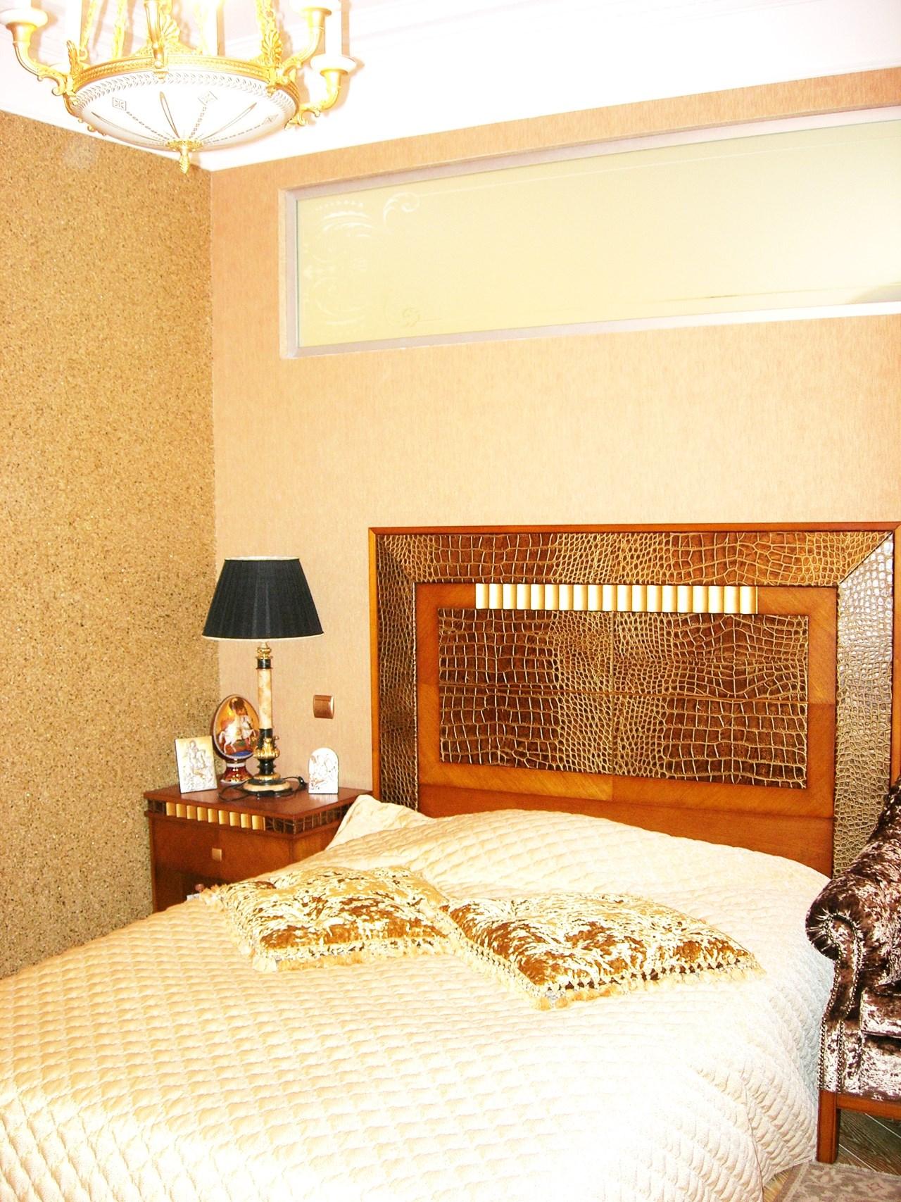 Спальня с удобной кроватью