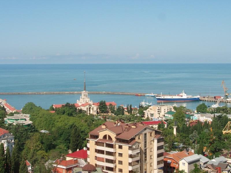 Вид на черное море