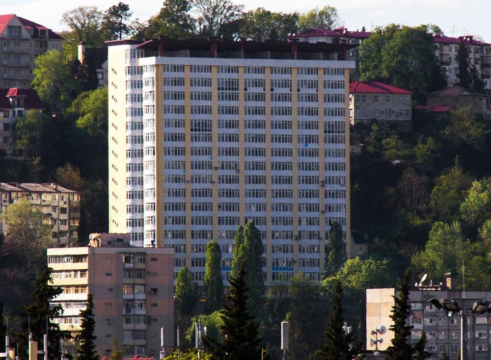 Современный дом в центре города