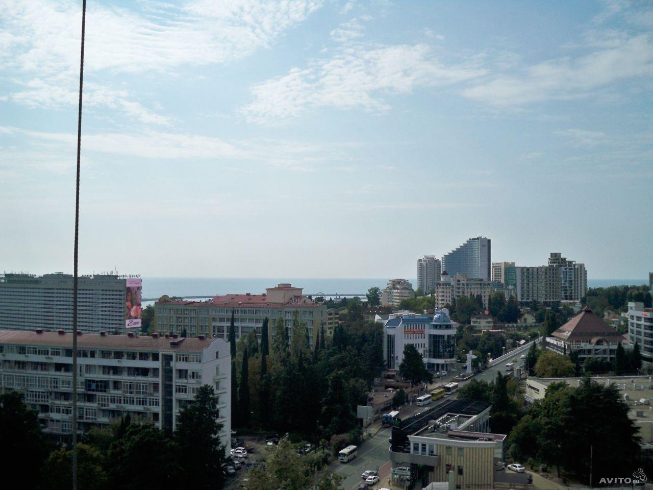 Вид из окон на город