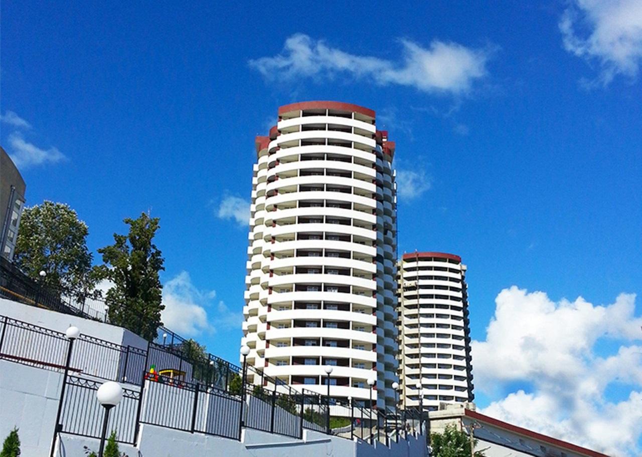 В комплексе все квартиры с балконом
