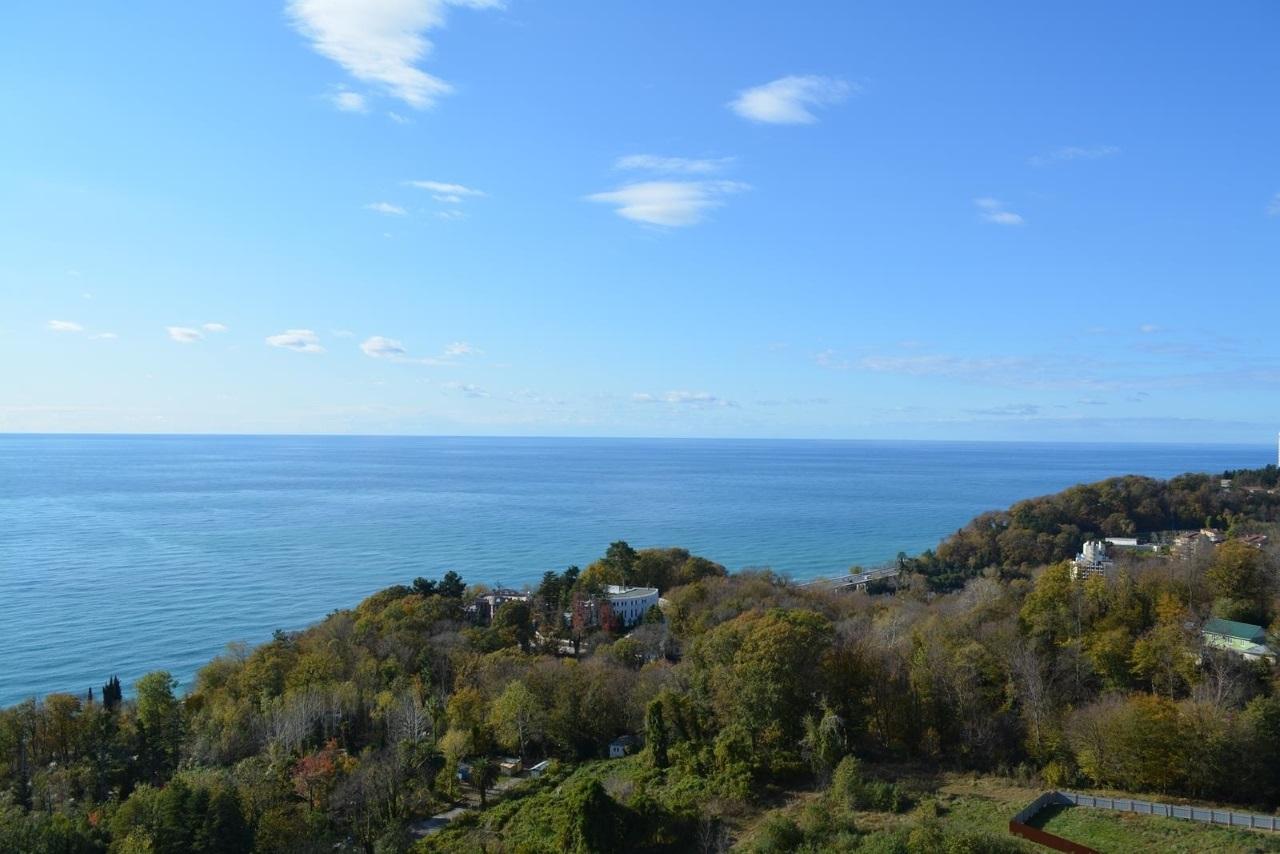 Вид на море и национальный парк