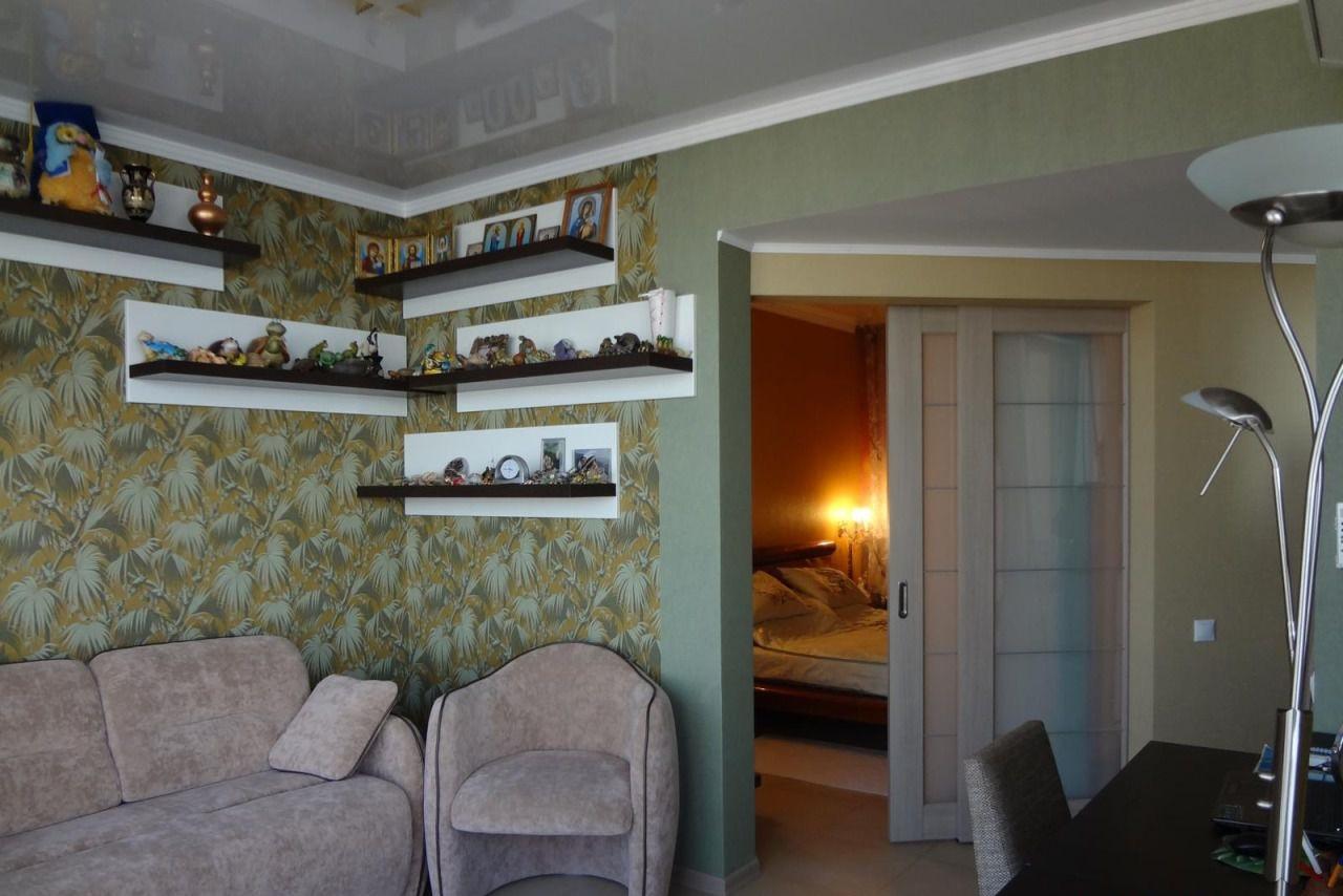 Спальня с раздвижными дверьми
