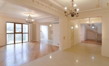 Комната с классически ремонтом