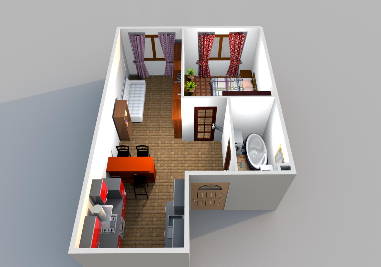 Готовое решение квартиры