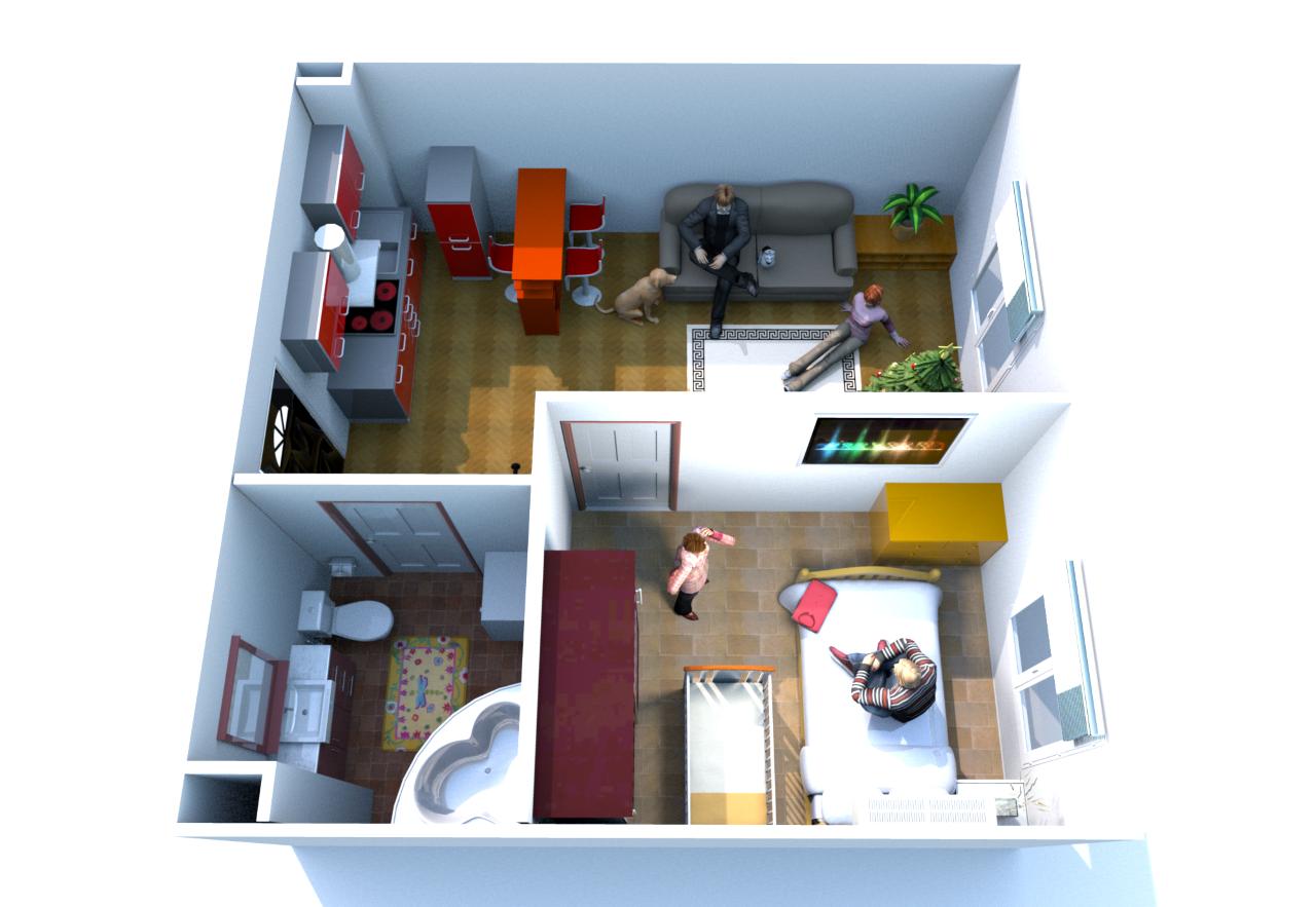 Квартира в районе приморье