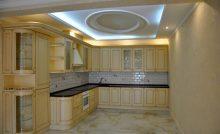 Гранитный пол на кухне