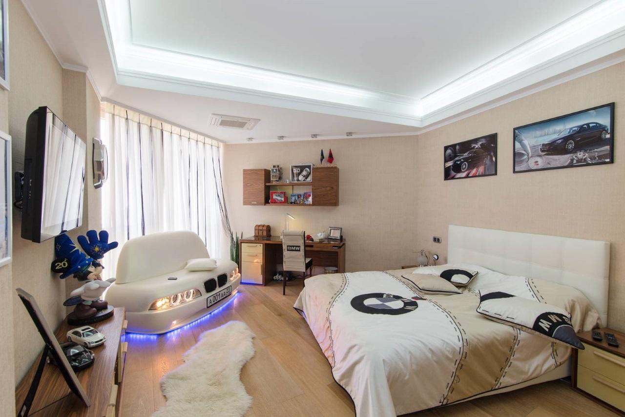 Эксклюзивная комната для мальчика