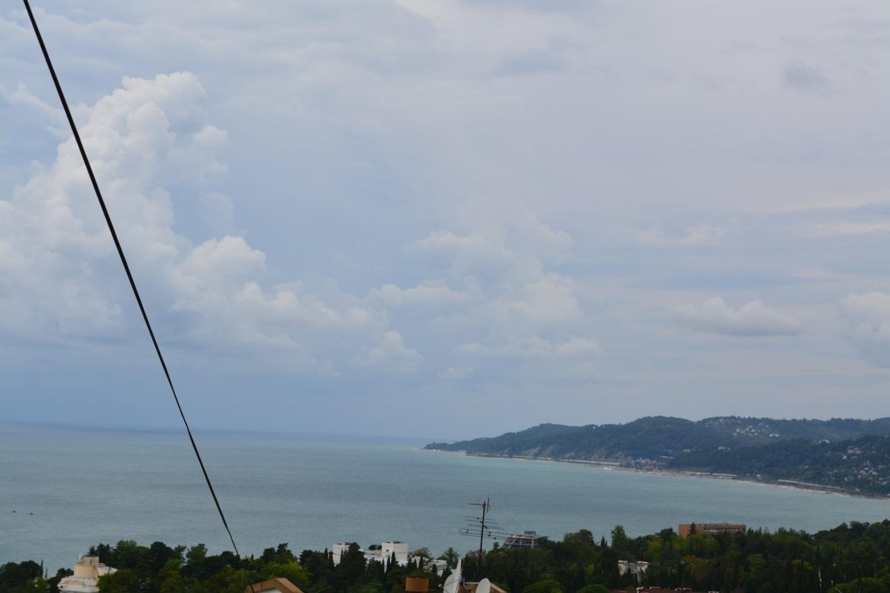 Вид на море с просторной террасы