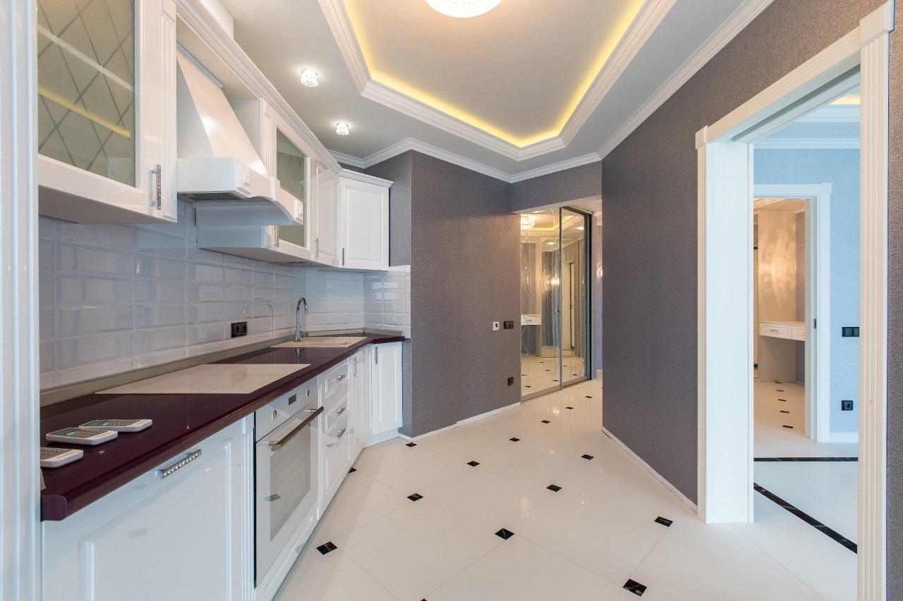 Квартира с шикарной кухней