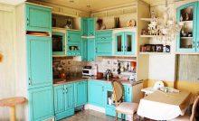 Кухня из каштана