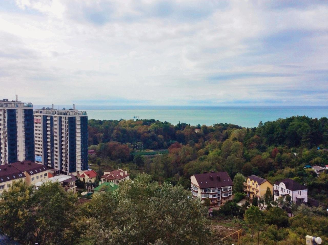 Вид на море из квартиры