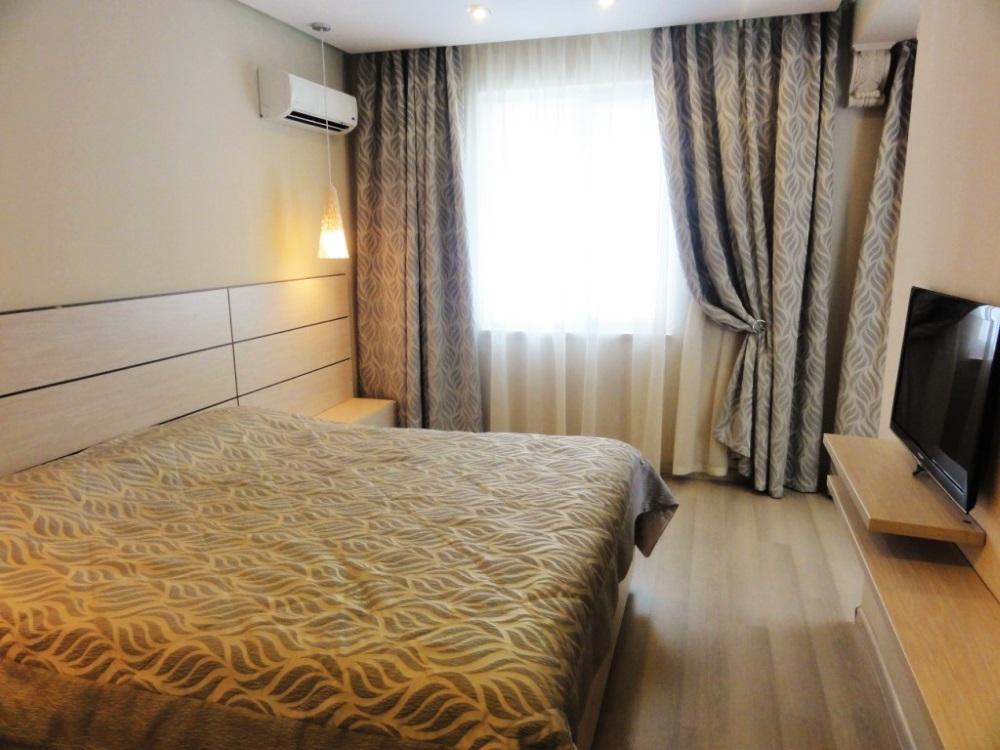 Спальная с новой кроватью
