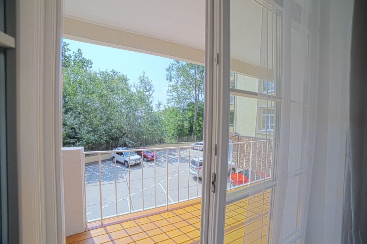 В квартире деревянные окна