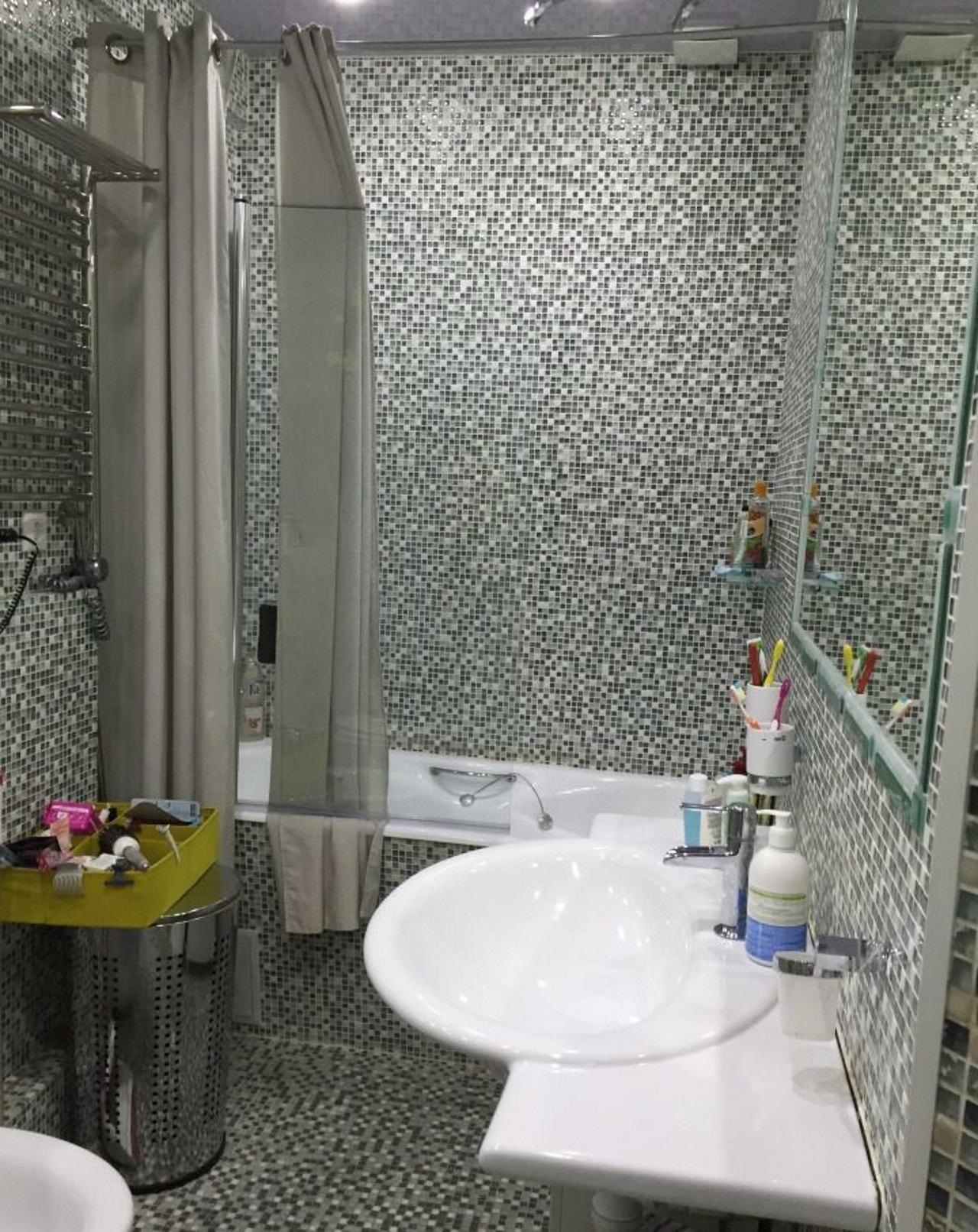 Ванная с мозайкой