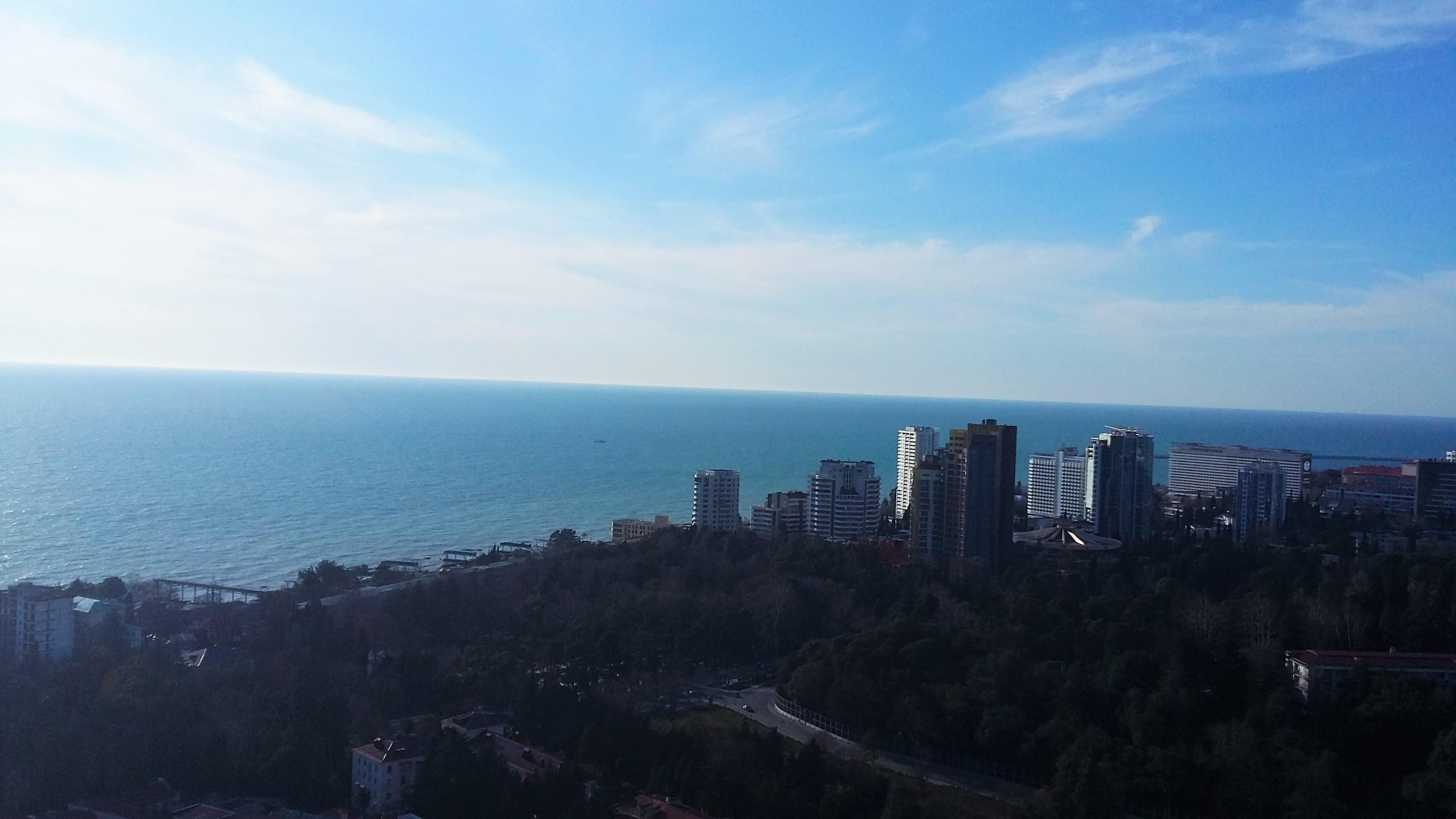 Море и Сочи
