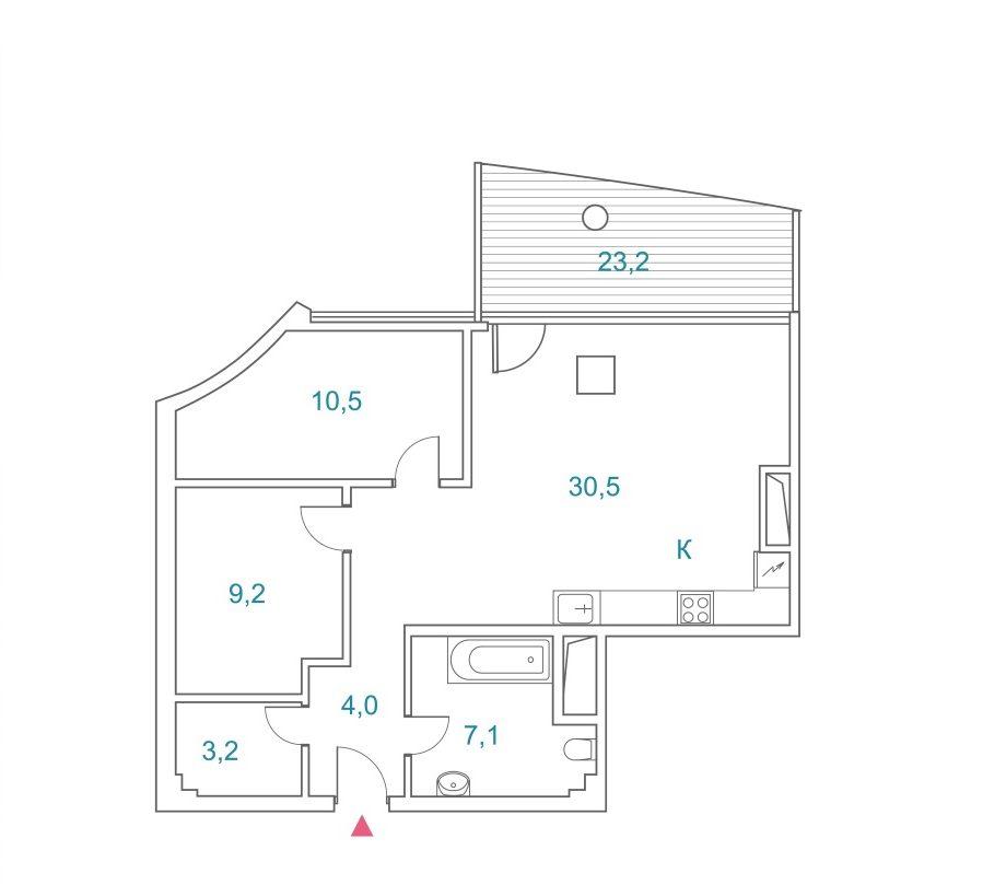 Квартира на Приморье