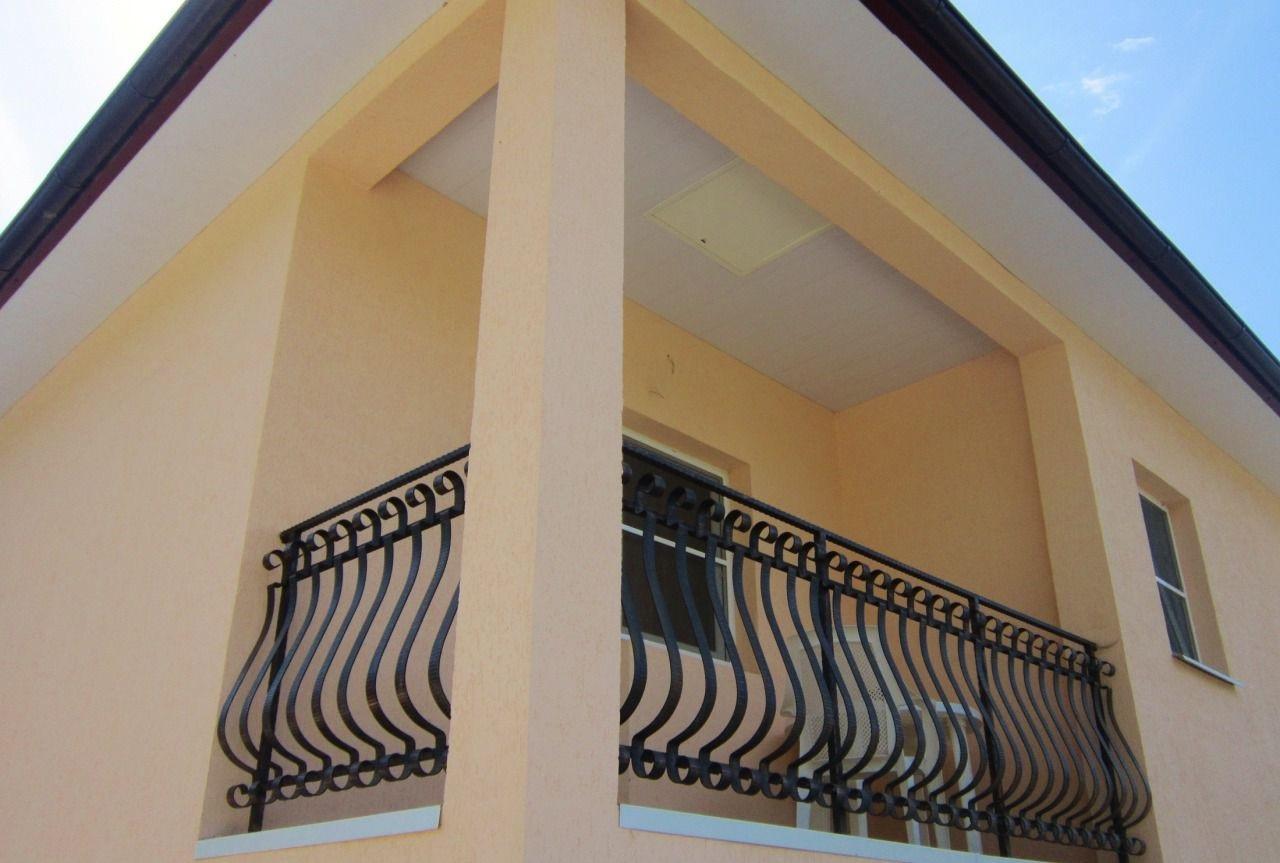 В доме просторный балкон