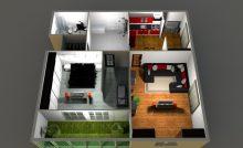 Большая квартира