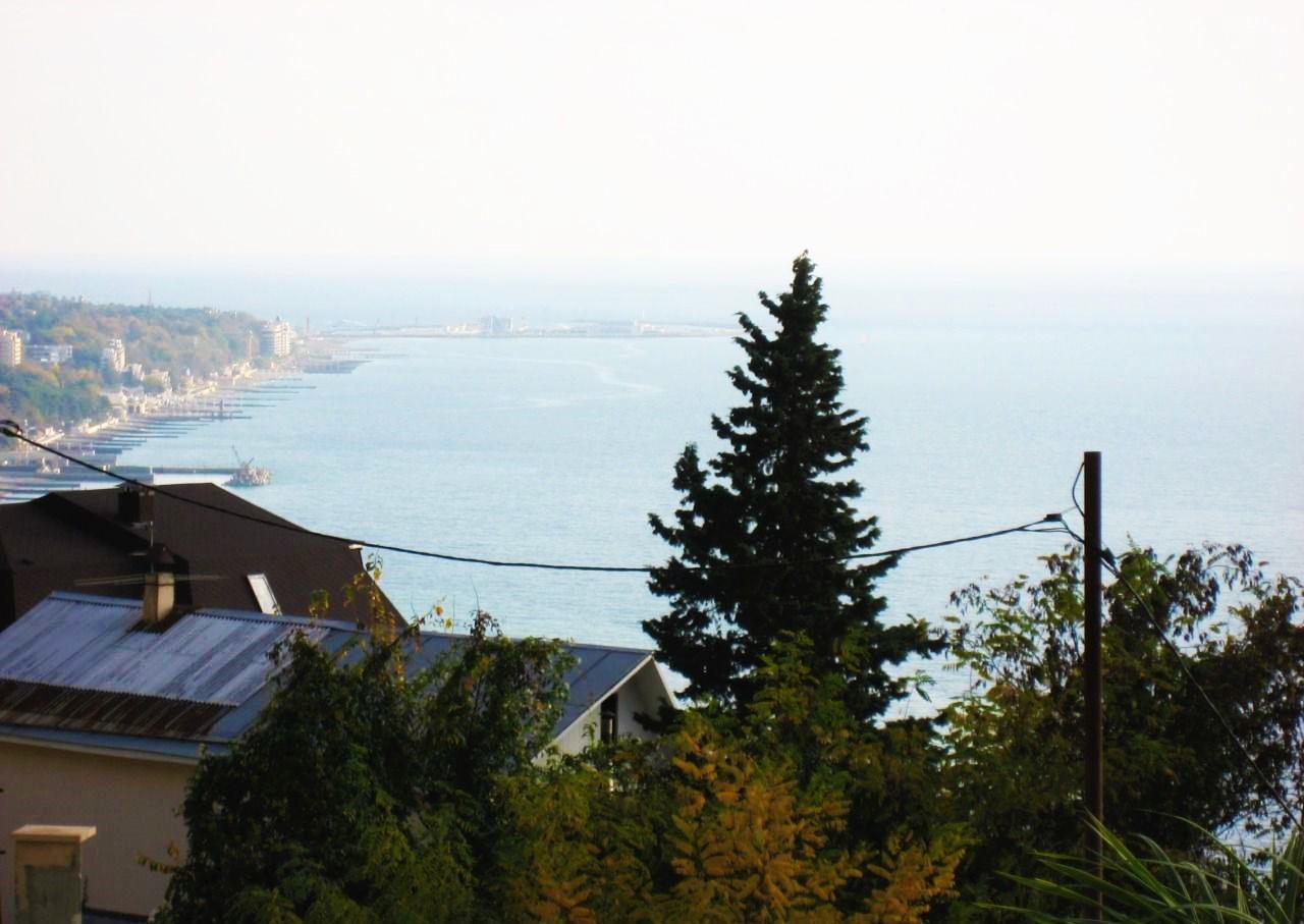 Панорамы моря и Сочи