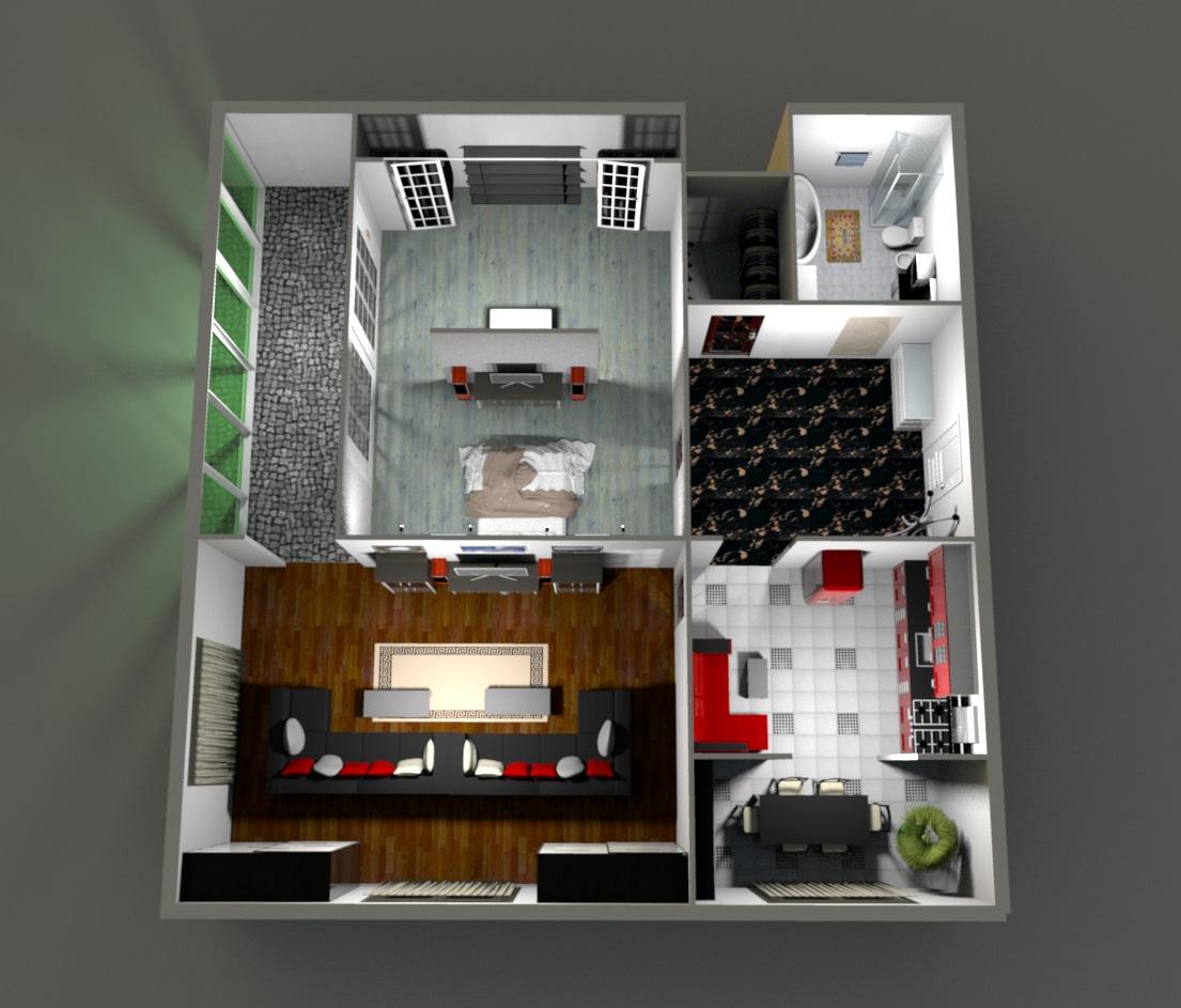 Квартира с панорамным остеклением