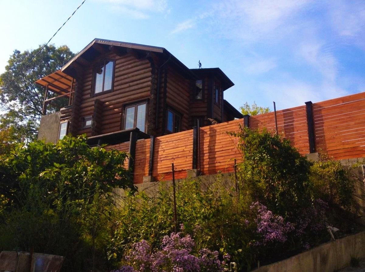 Дом из кругляка сосны