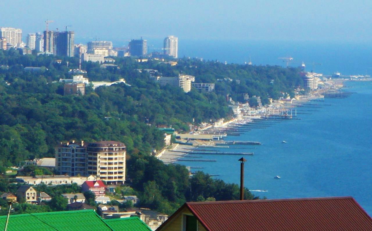 Вид на панорамы города