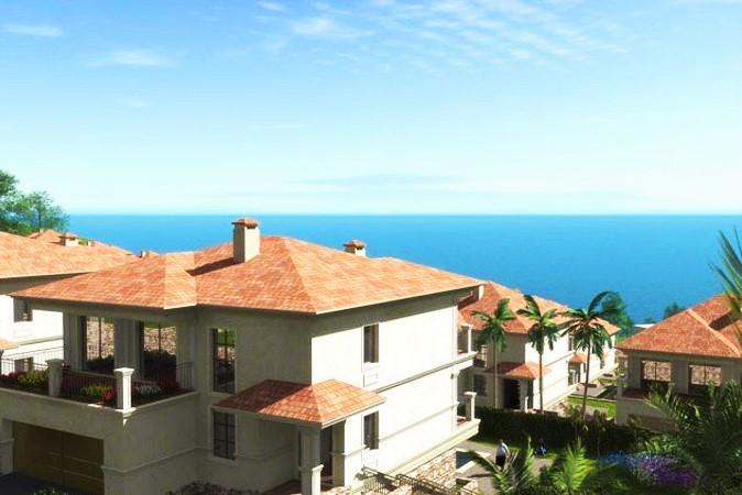 Коттедж с видом на море