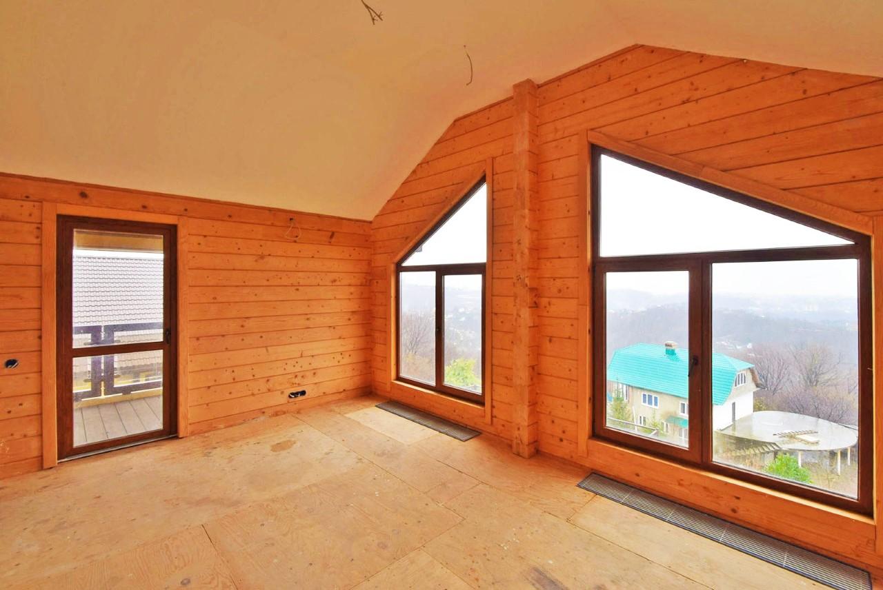 Большие угловые окна