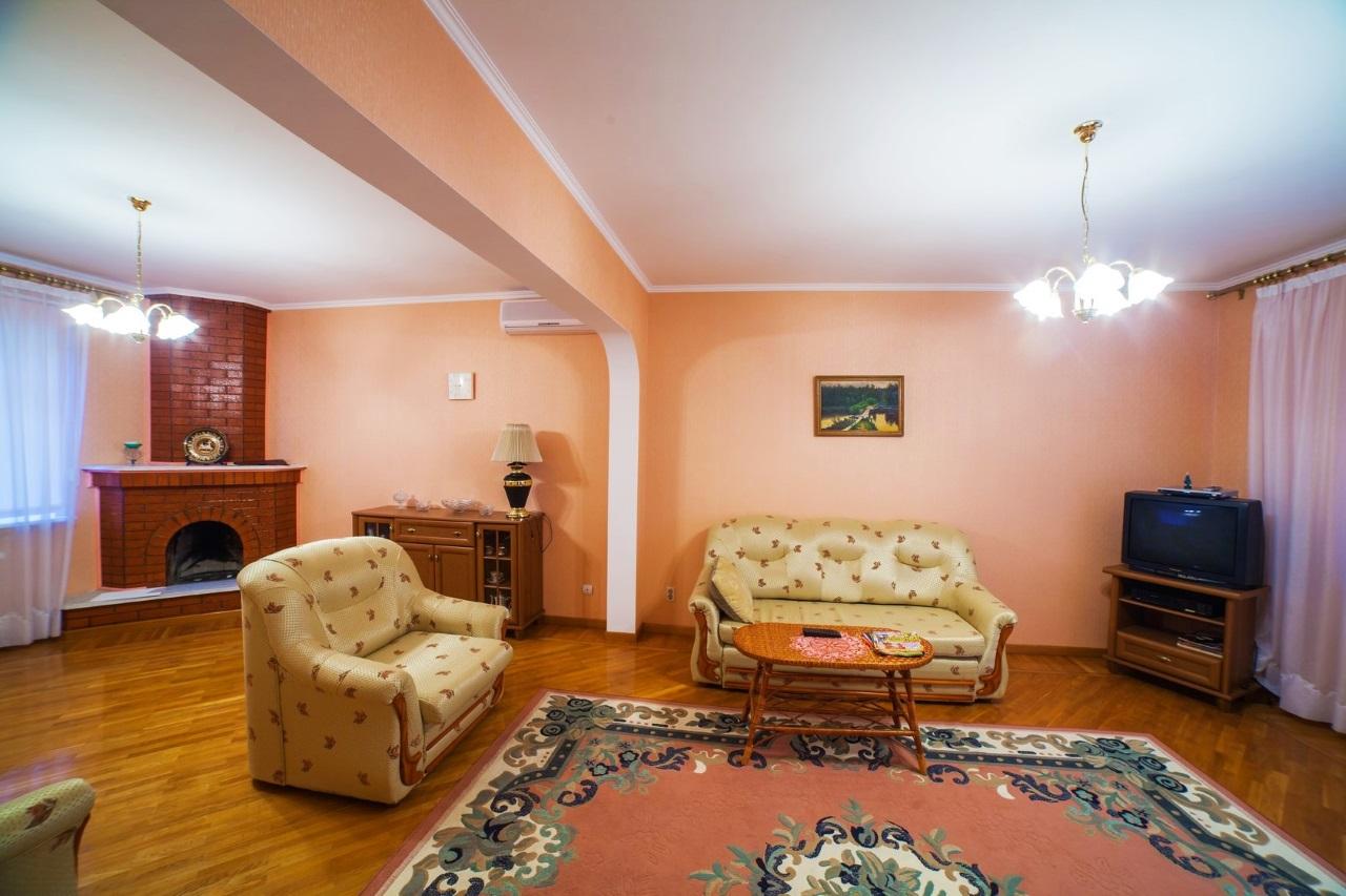 Гостиная с 2-мя диванами