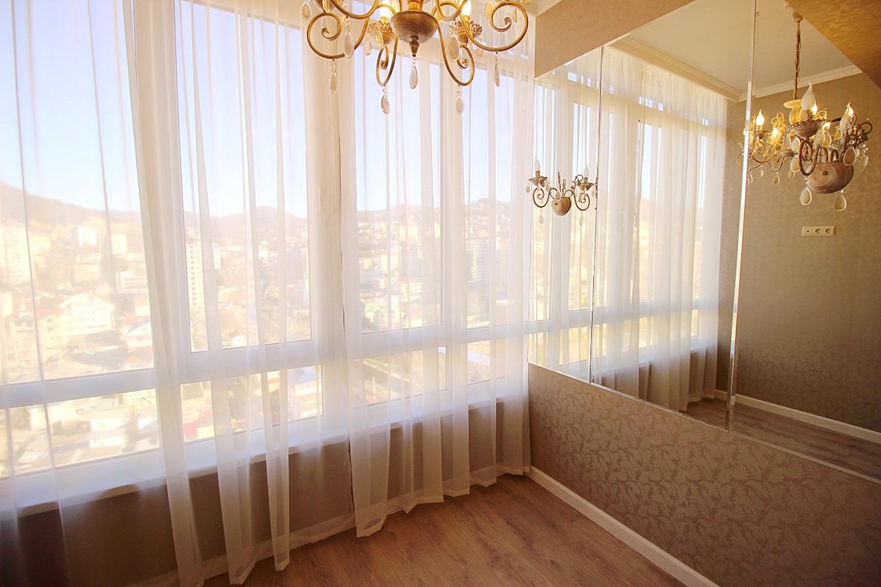 Большие панорамные окна