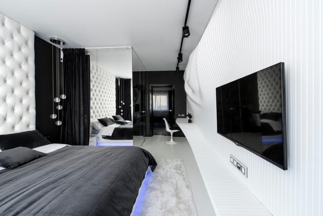 Спальная с гардеробной