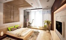 Большая спальная с видом на море