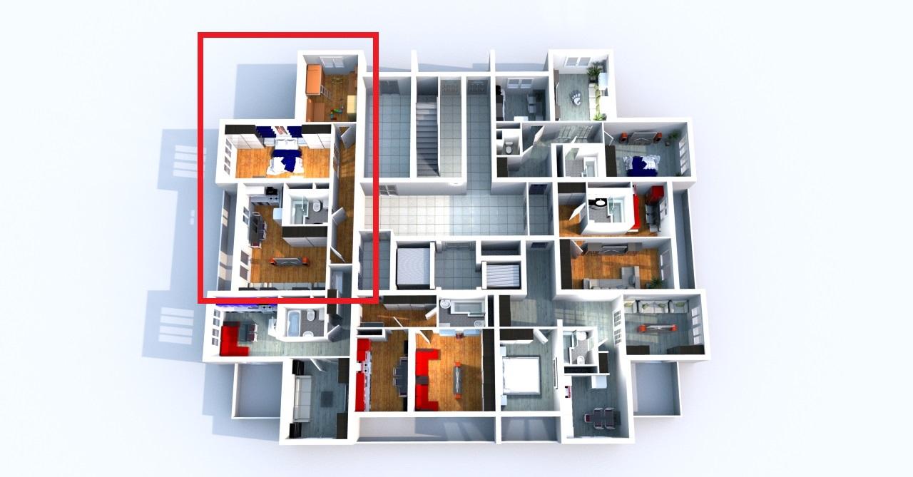 Квартира на этаже