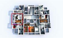Квартира с балконом в ЖК «Три капитана»