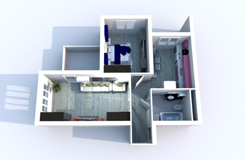 Угловая квартира в новом доме