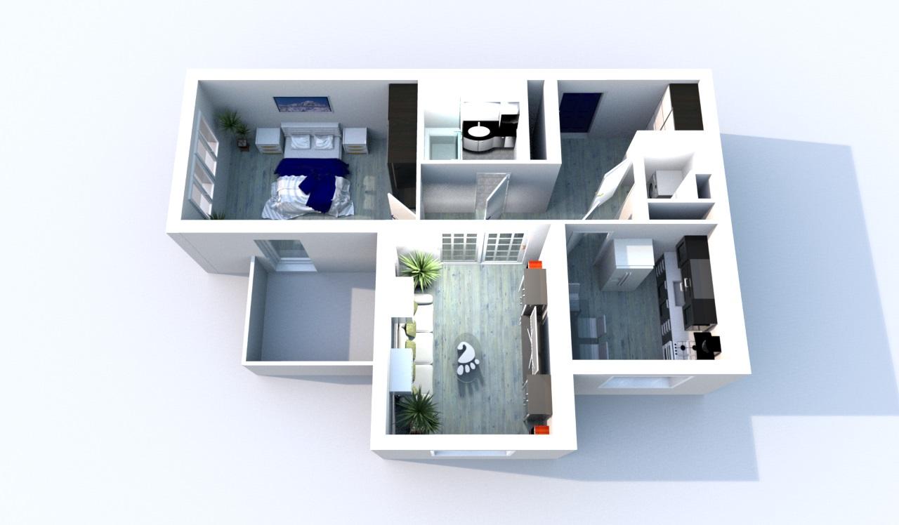 Эконом ремонт квартиры в новостройке от компании Пенза